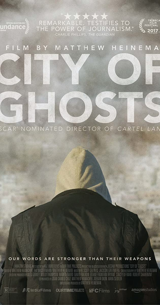 Subtitle of City of Ghosts
