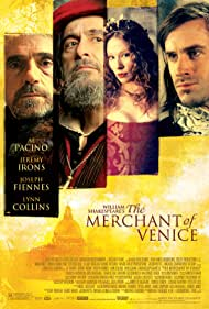 Al Pacino, Jeremy Irons, Joseph Fiennes, and Lynn Collins in The Merchant of Venice (2004)