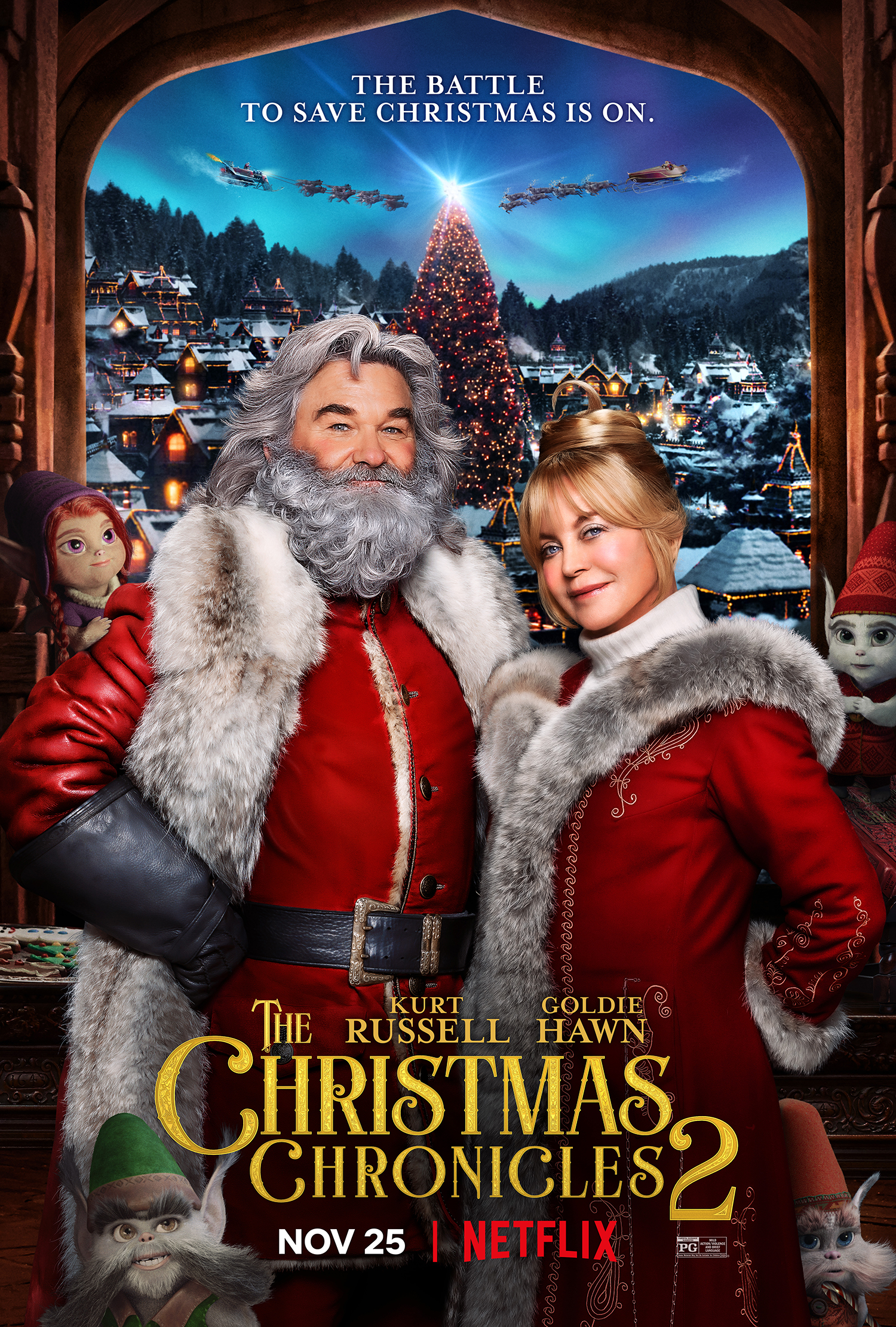 The Christmas Chronicles 2 (2020) English 720p HDCAM 842MB | 330MB Download