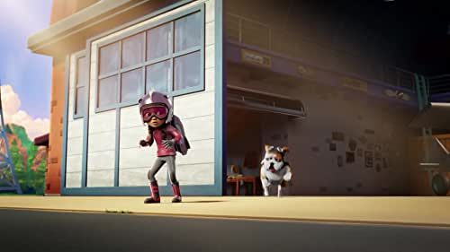 A girl inherits the persona of The Rocketeer, and with the help of her gadget-building friend they tackle epic adventures.