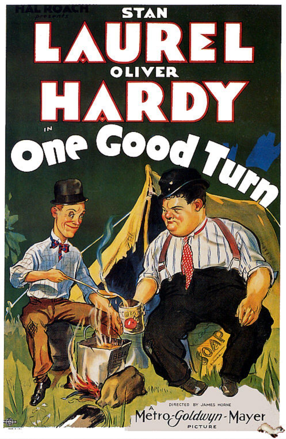 One Good Turn (1931) DVDRip