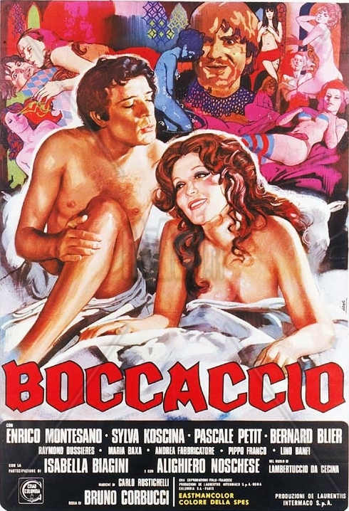 18+ Boccaccio 1972 italian Movie 300MB HDRip Download