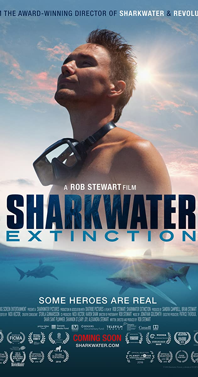 image poster from imdb - Sharkwater Extinction (2018) • Movie