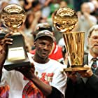 Michael Jordan, Phil Jackson, and Scottie Pippen in The Last Dance (2020)