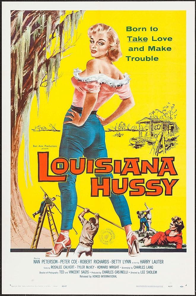 Nan Peterson in The Louisiana Hussy (1959)