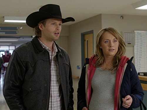 Amber Marshall and Kerry James in Heartland (2007)