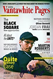 Vantawhite Pages Almanac Issue 1: The Black Square Poster