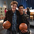 Frankie A. Rodriguez and Joshua Bassett in High School Musical: The Musical - The Series (2019)