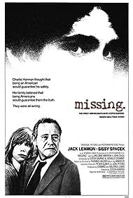 Jack Lemmon, Sissy Spacek, and John Shea in Missing (1982)