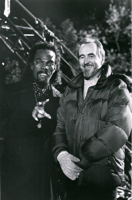 Wes Craven and Eddie Murphy in Vampire in Brooklyn (1995)