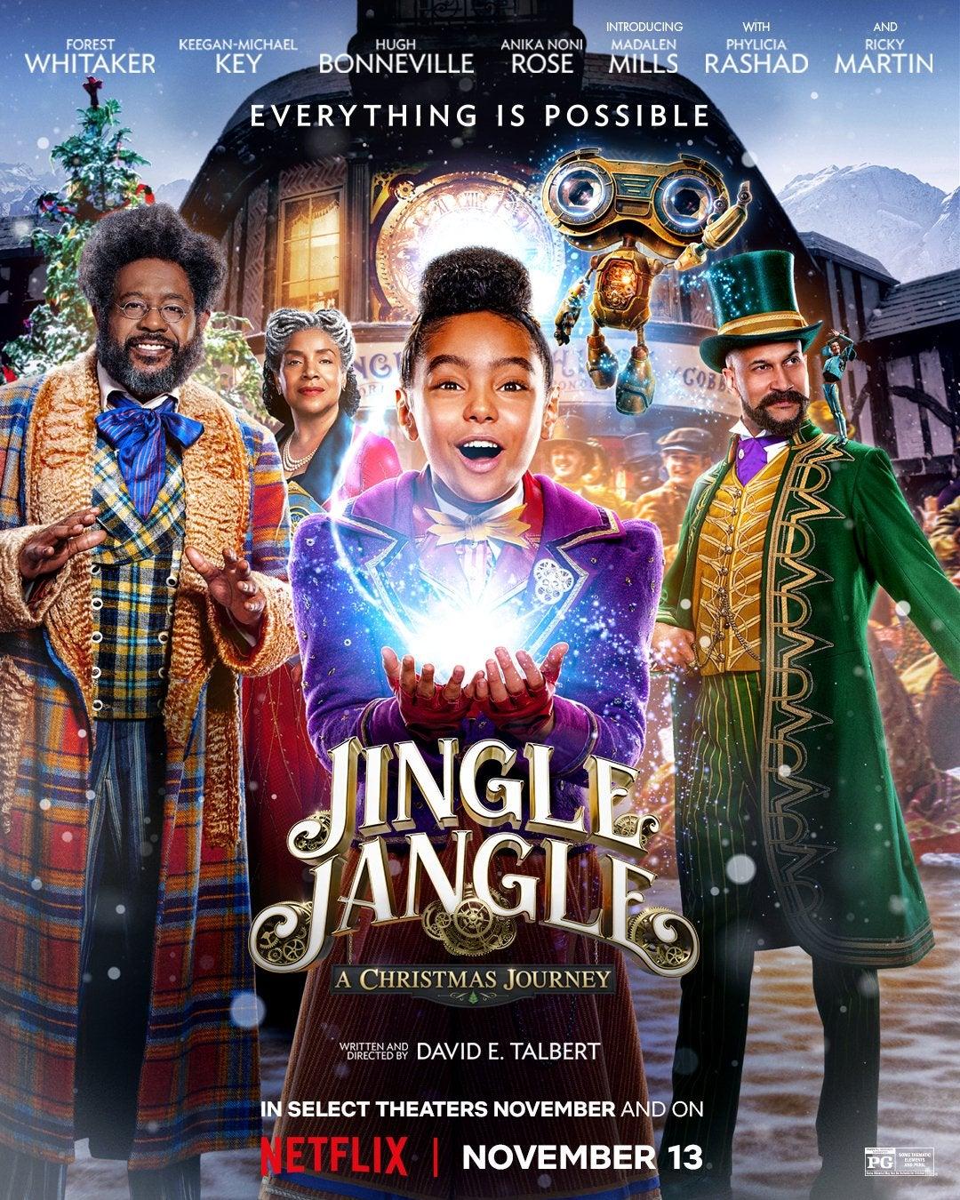 Jingle Jangle: A Christmas Journey 2020 Dual Audio Hindi ORG 400MB NF HDRip 480p ESubs