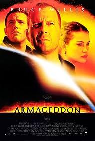 Liv Tyler, Bruce Willis, and Ben Affleck in Armageddon (1998)