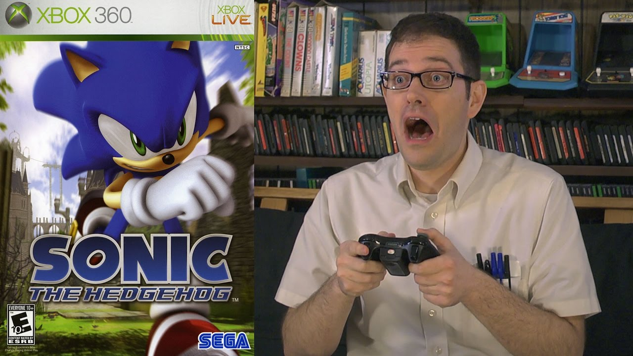 The Angry Video Game Nerd Sonic The Hedgehog 2006 Tv Episode