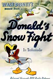 Donald's Snow Fight Poster