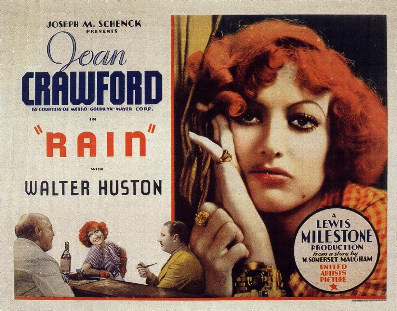 Walter Huston Rain Joan Crawford movie poster #2