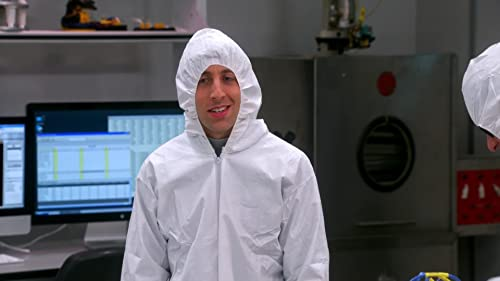 The Big Bang Theory: The Clean Room Infiltration