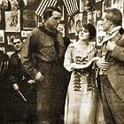 Dustin Farnum, Winifred Kingston, and Monroe Salisbury in The Virginian (1914)