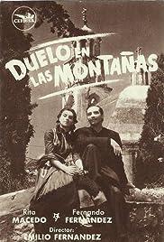Duelo en las montañas Poster