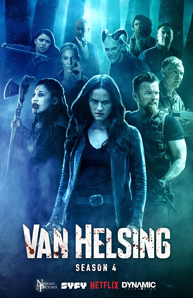 Aleks Paunovic, Vincent Gale, Kelly Overton, Jonathan Scarfe, and Jennifer Cheon Garcia in Van Helsing (2016)