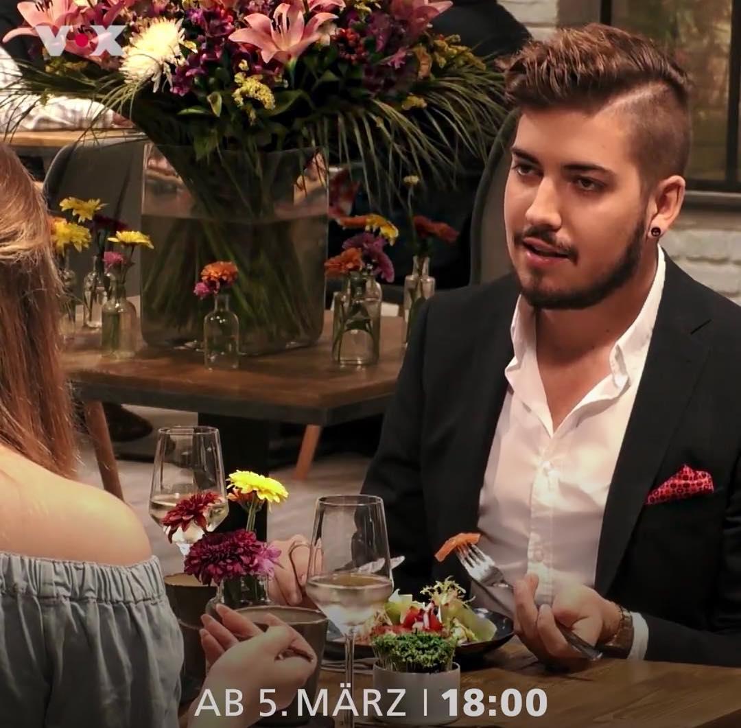 """Pat Wind in the VOX-TV Show """"First Dates - Ein Tisch für zwei"""" (Germany)"""