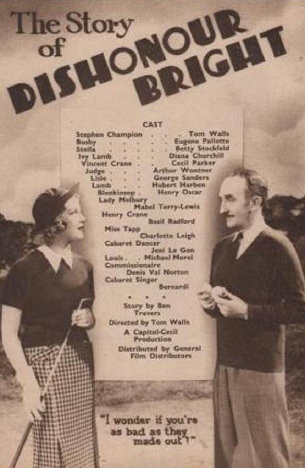 Dishonour Bright (1936)