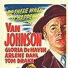 Van Johnson and Arlene Dahl in Scene of the Crime (1949)