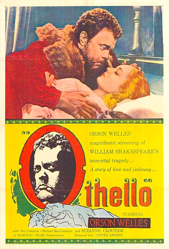 Orson Welles and Suzanne Cloutier in The Tragedy of Othello: The Moor of Venice (1951)