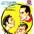 Marcello Mastroianni, Vittorio Gassman, and Totò in I soliti ignoti (1958)