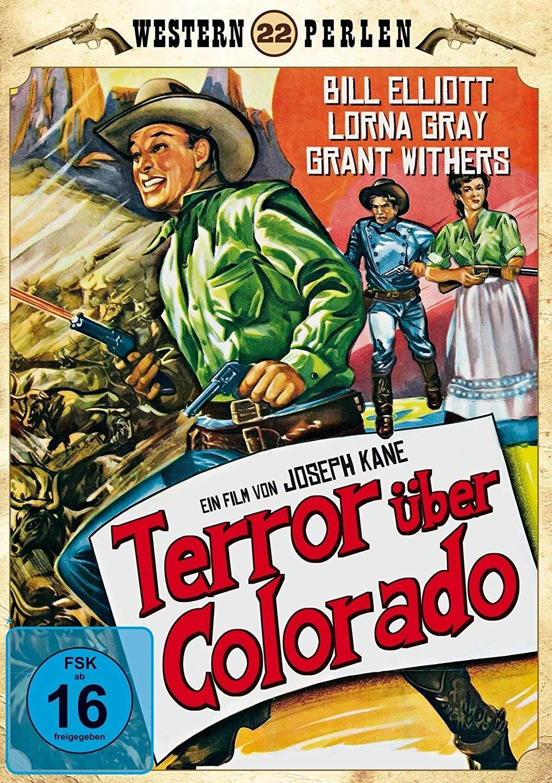Noah Beery Jr., Bill Elliott, and Lorna Gray in The Savage Horde (1950)