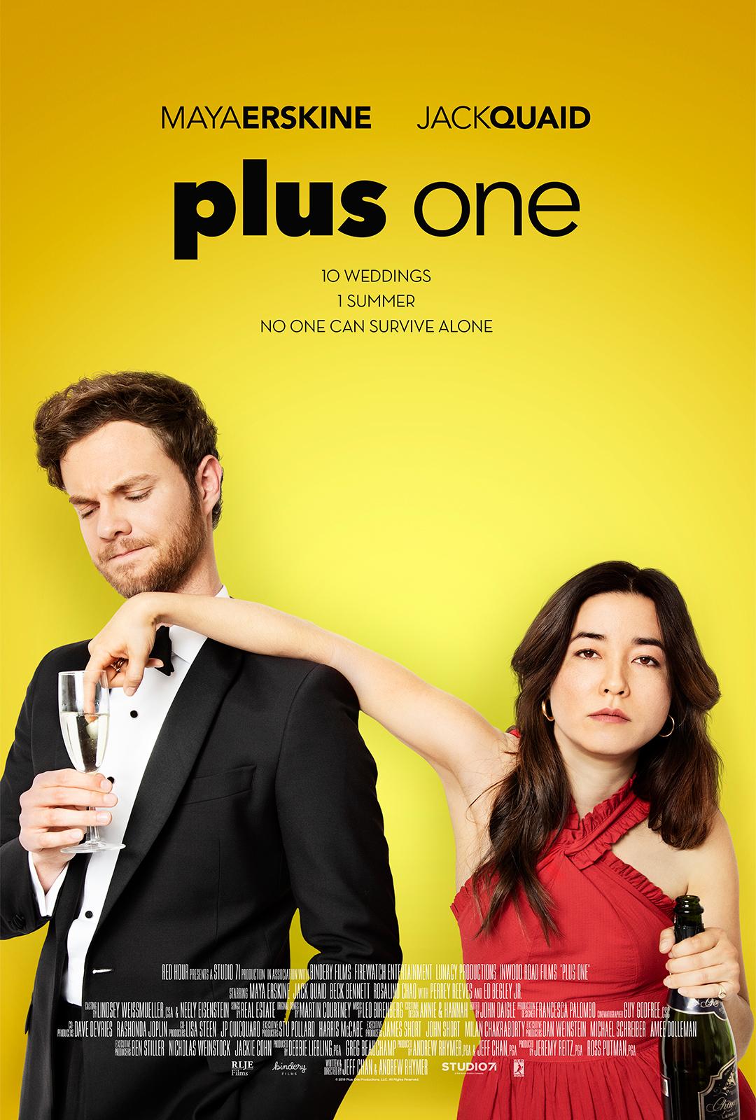 Plius vienas (2019) / Plus One (2019)