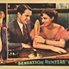 Marion Burns and Kenneth MacKenna in Sensation Hunters (1933)