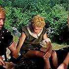 Cameron Mitchell, Elissa Pichelli, and Luciano Pollentin in I coltelli del vendicatore (1966)