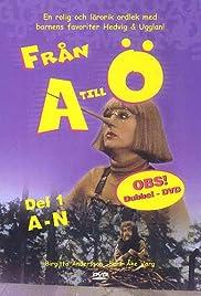 Från A till Ö Poster