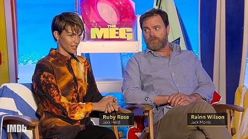 'The Meg' Cast Gets Stranded in the Ocean