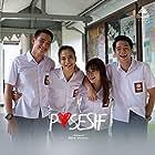Gritte Agatha, Adipati Dolken, Chicco Kurniawan, and Putri Marino in Posesif (2017)