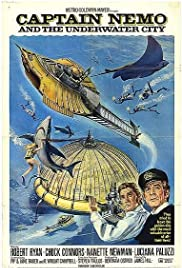 Captain Nemo and the Underwater City Poster