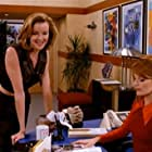 Marcia Cross and Laura Leighton in Melrose Place (1992)