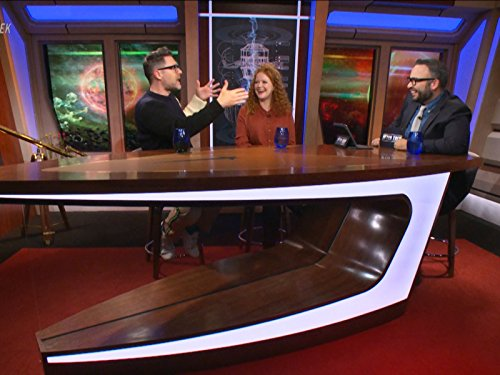 Aaron Harberts, Matt Mira, and Mary Wiseman in After Trek (2017)