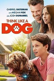 Josh Duhamel, Megan Fox, and Gabriel Bateman in Think Like a Dog (2020)