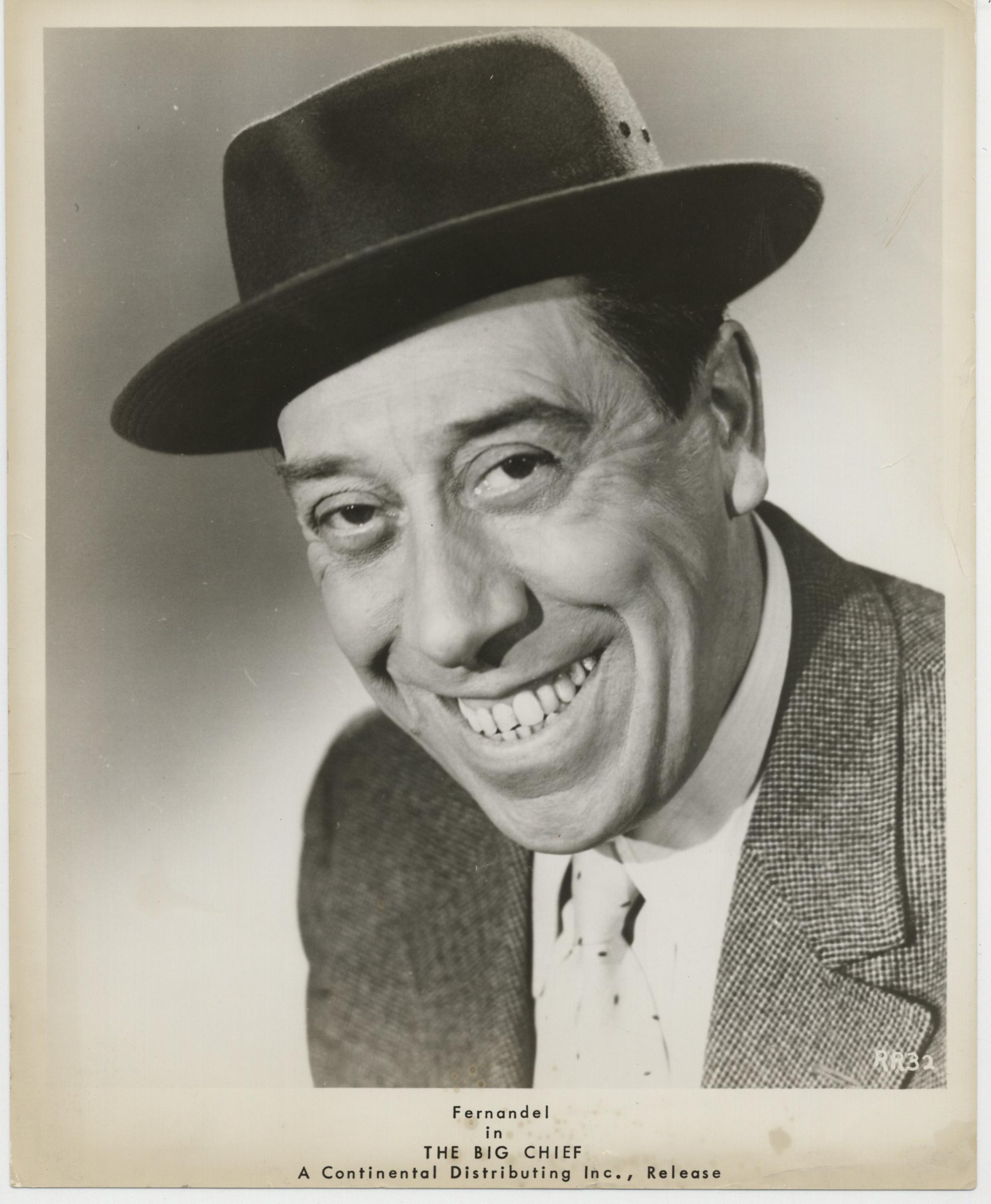 Fernandel in Le grand chef (1959)