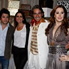 Murilo Benício, Alexandre Borges, Malu Mader, and Cláudia Raia in Ti Ti Ti (2010)