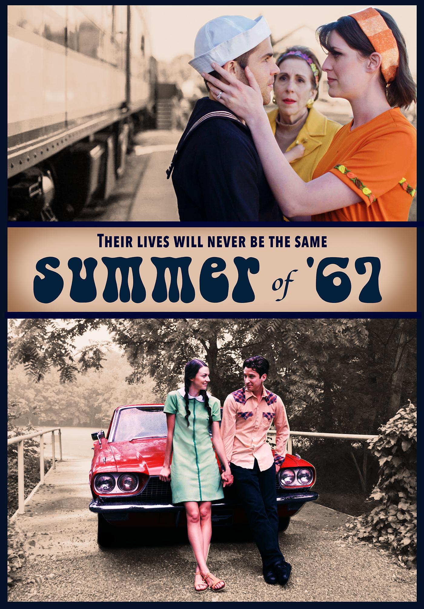 Mimi Sagadin, Cameron Gilliam, Rachel Schrey, and Bethany Davenport in Summer of '67 (2018)