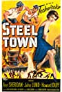 Howard Duff, John Lund, and Ann Sheridan in Steel Town (1952)