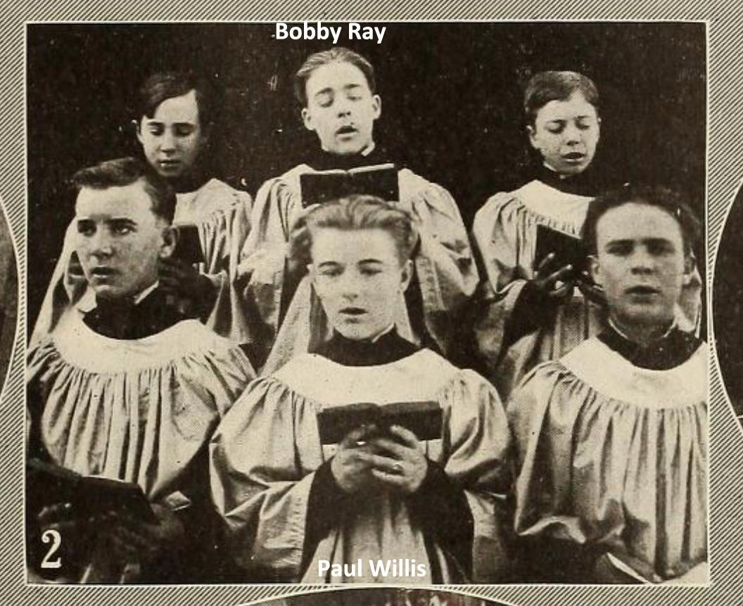 Bobby Ray and Paul Willis in The Choir Boys (1915)