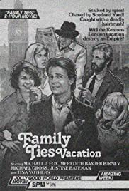 Family Ties Vacation Poster
