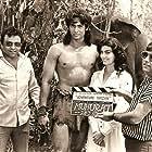 Hemant Birje, Kimi Katkar, and Babbar Subhash in Adventures of Tarzan (1985)
