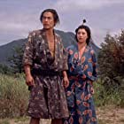 Toshirô Mifune and Mariko Okada in Miyamoto Musashi (1954)