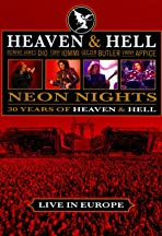 Heaven & Hell: Neon Nights, Live in Europe