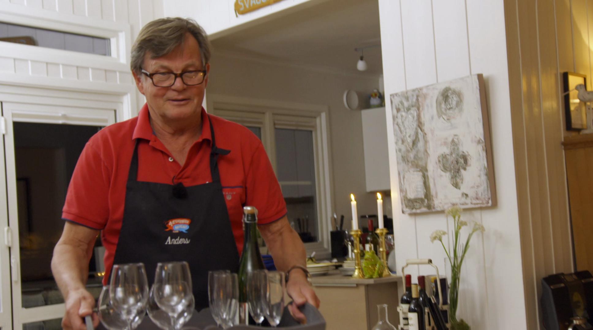 4 Stjerners Middag Anders Hatlo