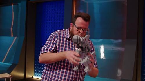 Lego Masters: Mark & Boone's Shark Takes A Tumble